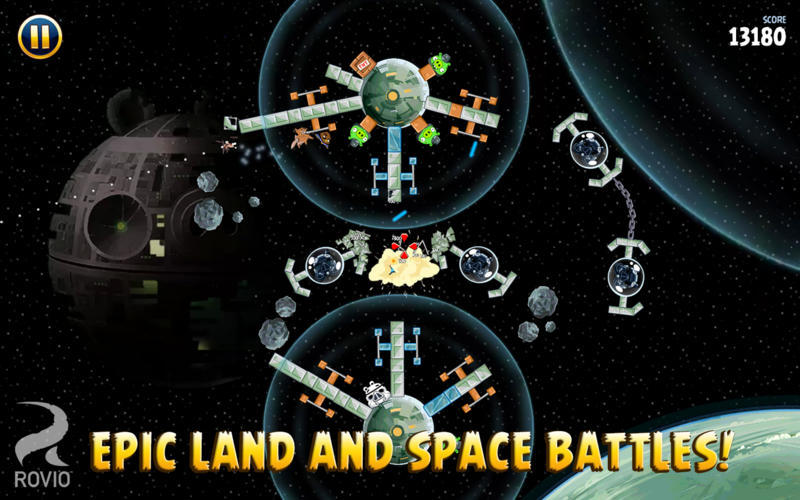 Screenshot 4 for Angry Birds Star Wars