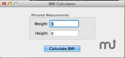 Screenshot 1 for BMI Calculator