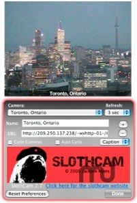 Screenshot 1 for SlothCam
