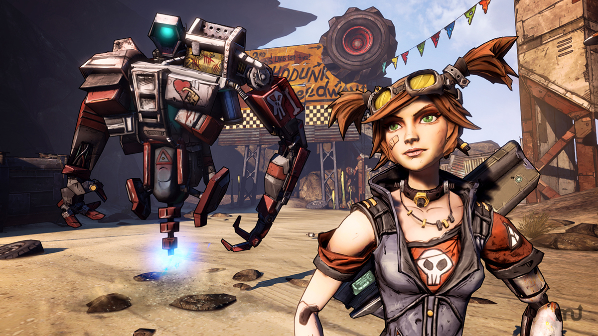 Screenshot 1 for Borderlands 2: Mechromancer Pack