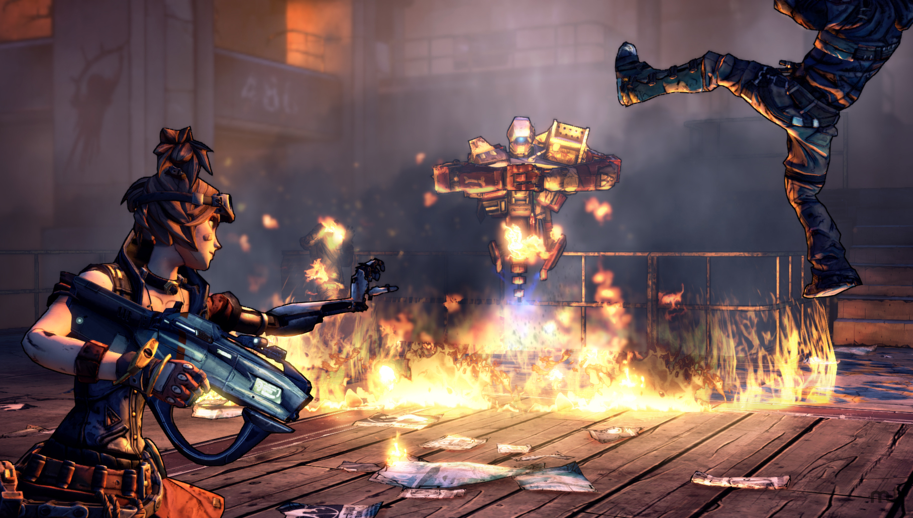 Screenshot 2 for Borderlands 2: Mechromancer Pack