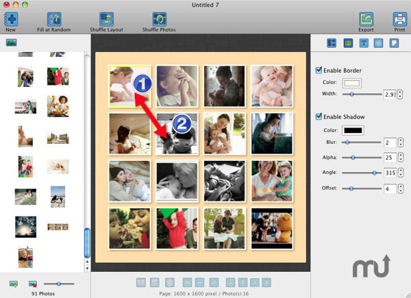 Screenshot 1 for CollageFactory Pro