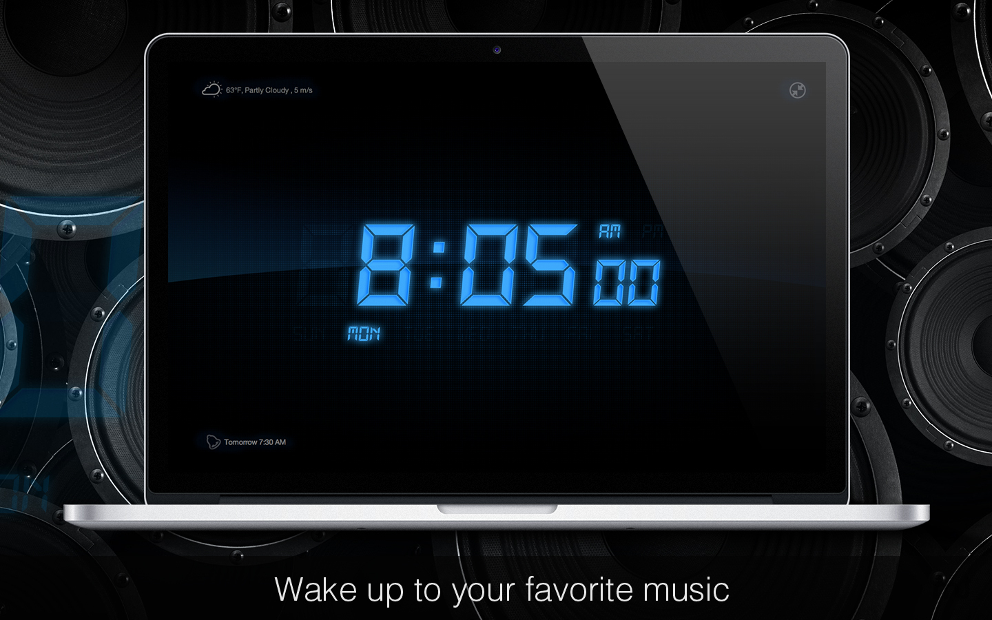 Screenshot 1 for My Alarm Clock