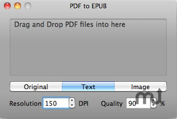 Screenshot 1 for PDF to EPUB