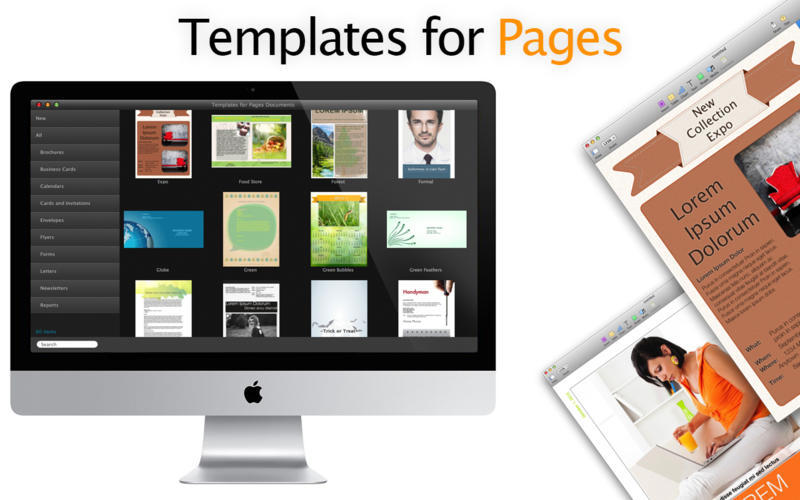 Screenshot 1 for Templates for Pages Documents