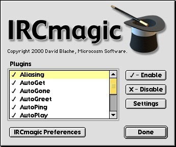 Screenshot 1 for IRCmagic