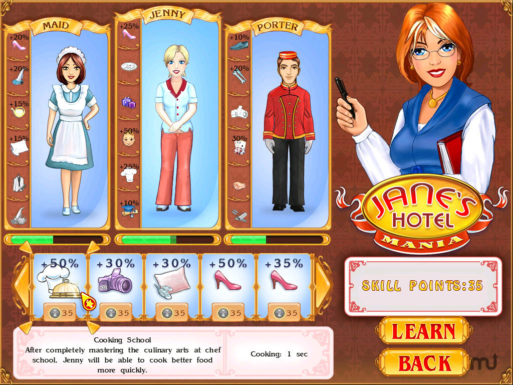 Screenshot 1 for Jane's Hotel Mania