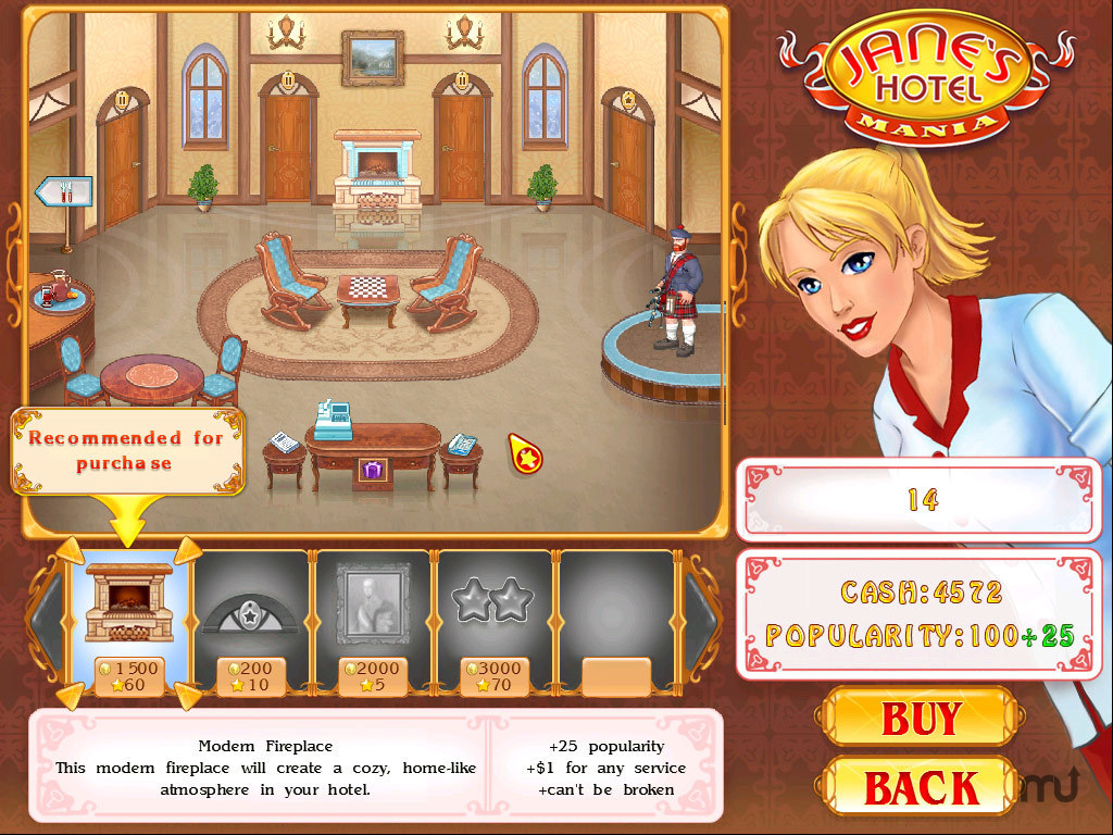 Screenshot 4 for Jane's Hotel Mania