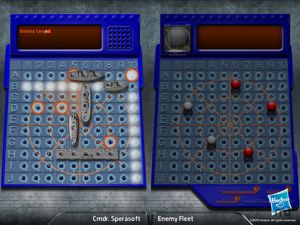 Screenshot 1 for Battleship