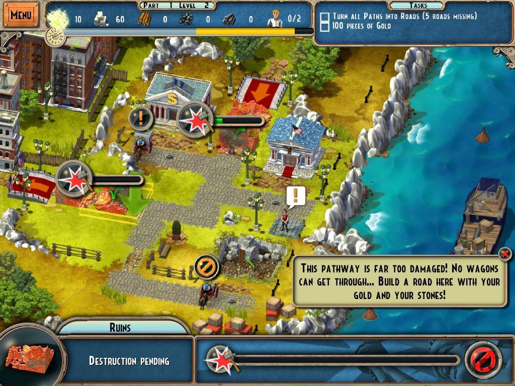 Screenshot 1 for Monument Builders: Statue Of Liberty