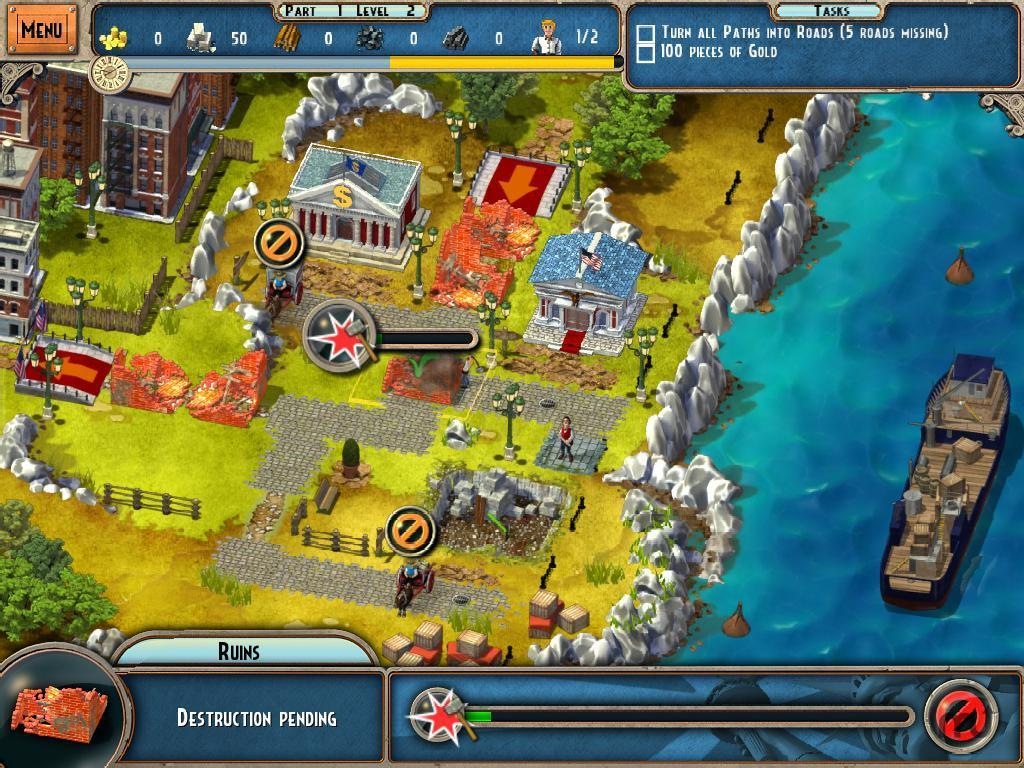 Screenshot 2 for Monument Builders: Statue Of Liberty