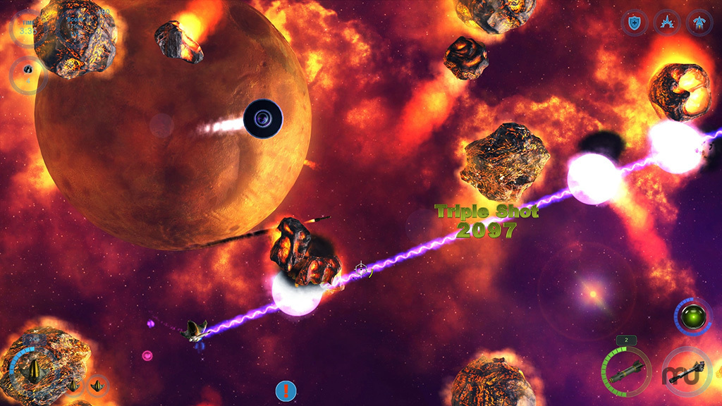 Screenshot 2 for The Galactic Asteroids Patrol