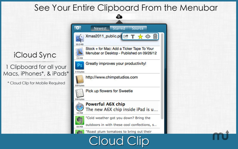 Screenshot 1 for Cloud Clip