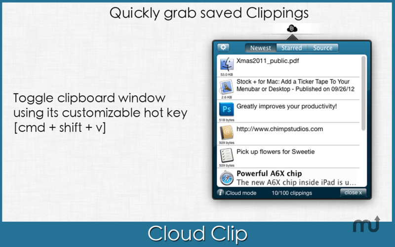 Screenshot 2 for Cloud Clip