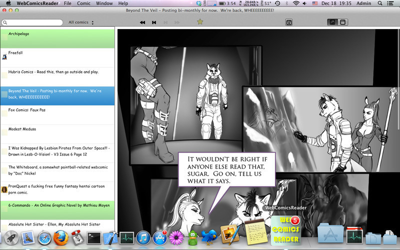 Screenshot 1 for WebComicsReader