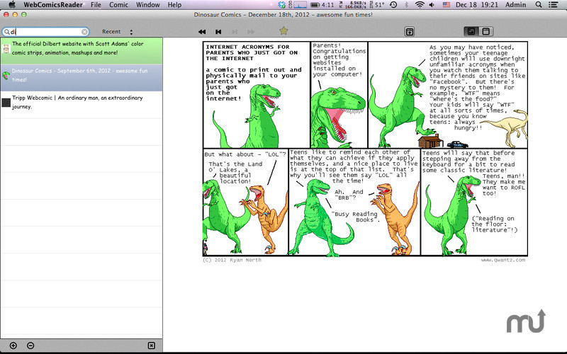 Screenshot 4 for WebComicsReader