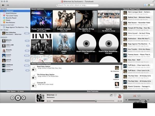 Tomahawk for Mac full screenshot
