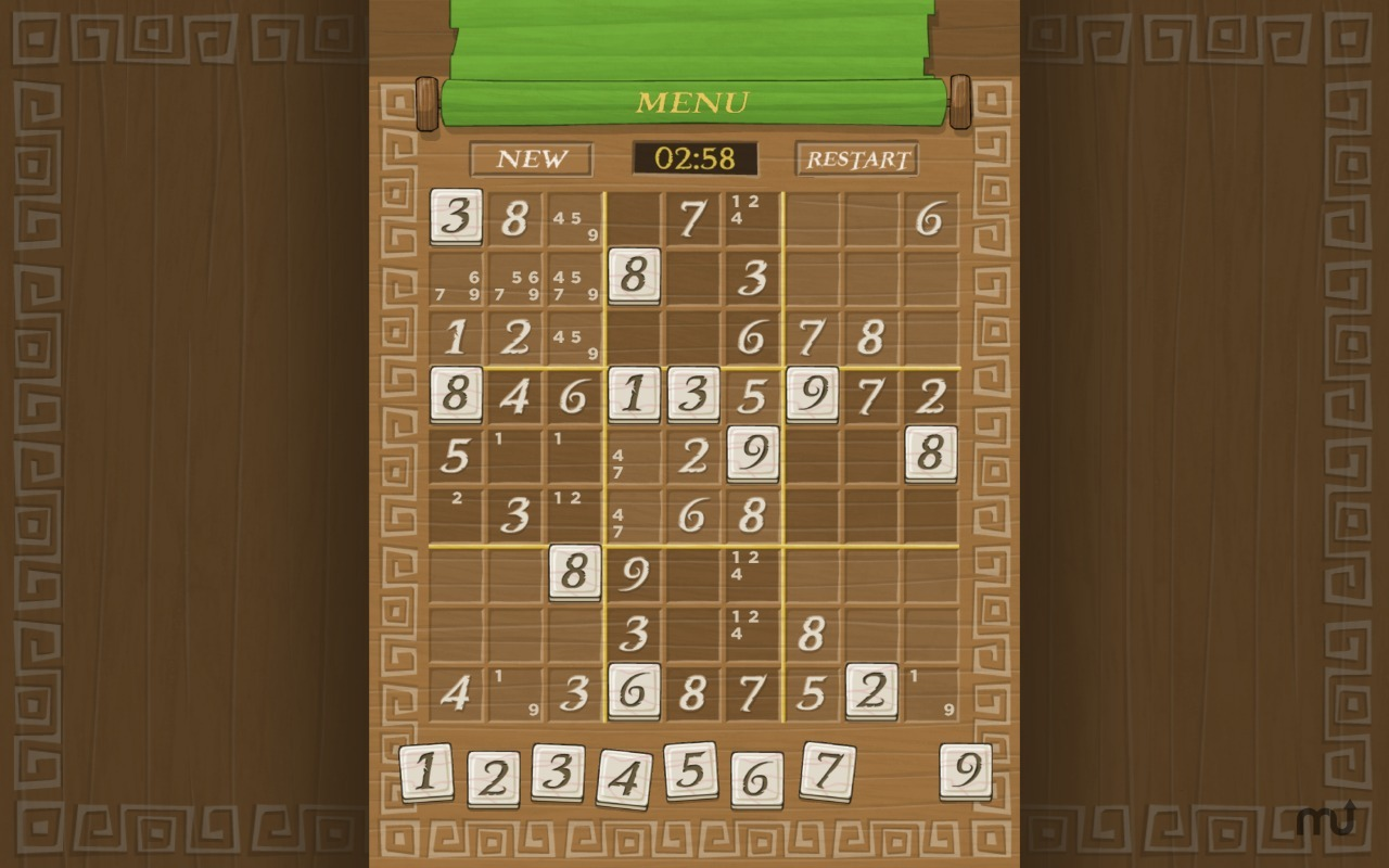 Screenshot 3 for Simply Sudoku