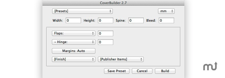 Screenshot 1 for CoverBuilder