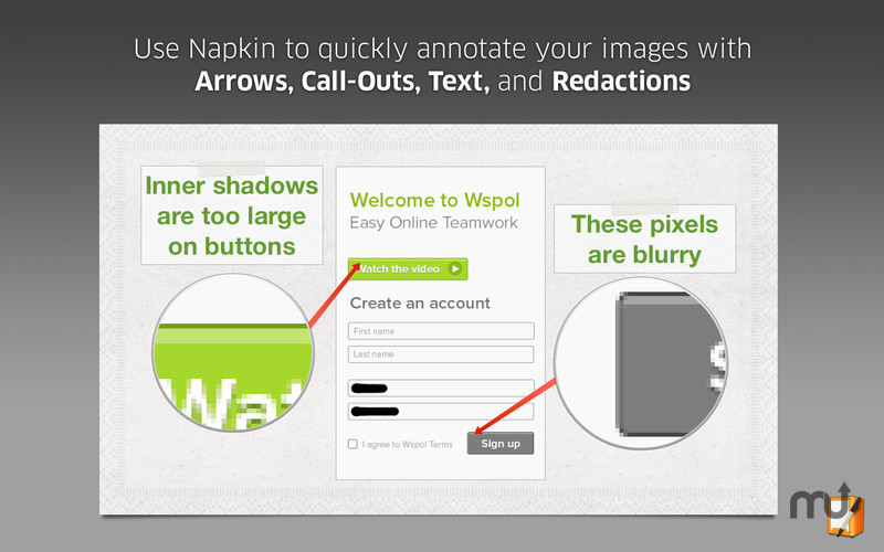 Screenshot 5 for Napkin - Image Annotation and Markup