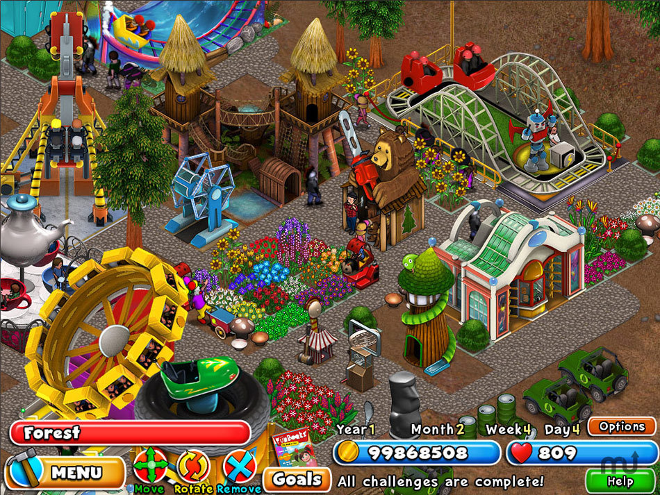 Screenshot 1 for Dream Builder: Amusement Park
