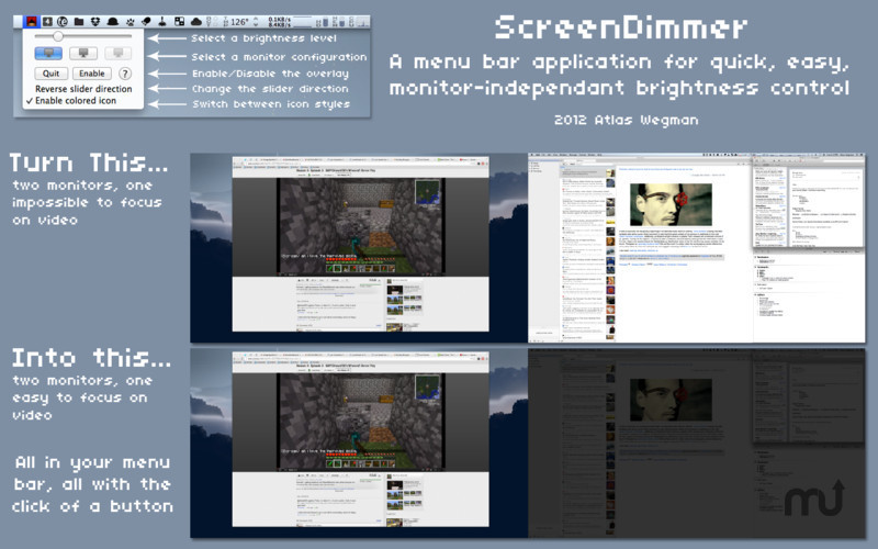 Screenshot 1 for ScreenDimmer