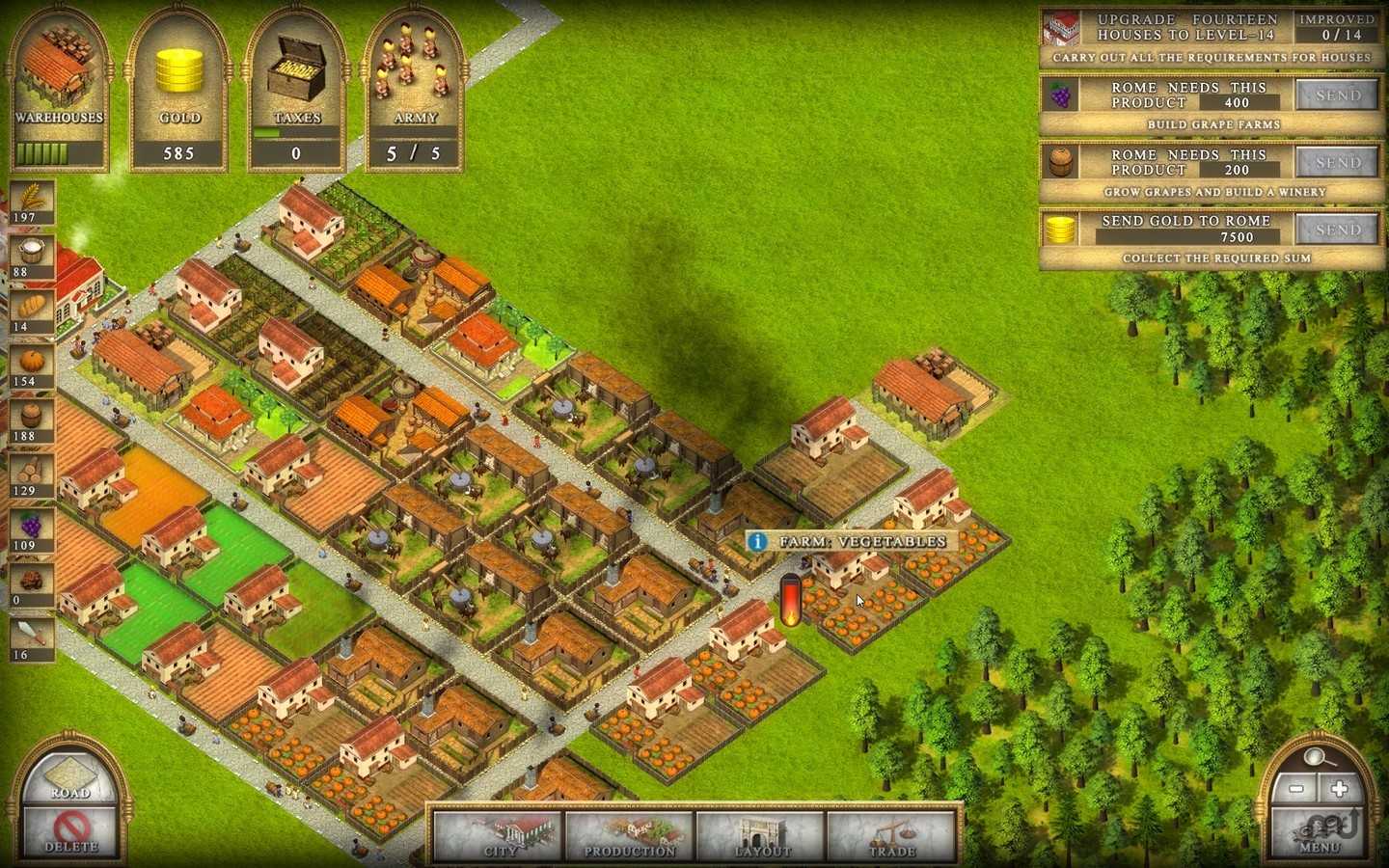 Screenshot 3 for Ancient Rome 2