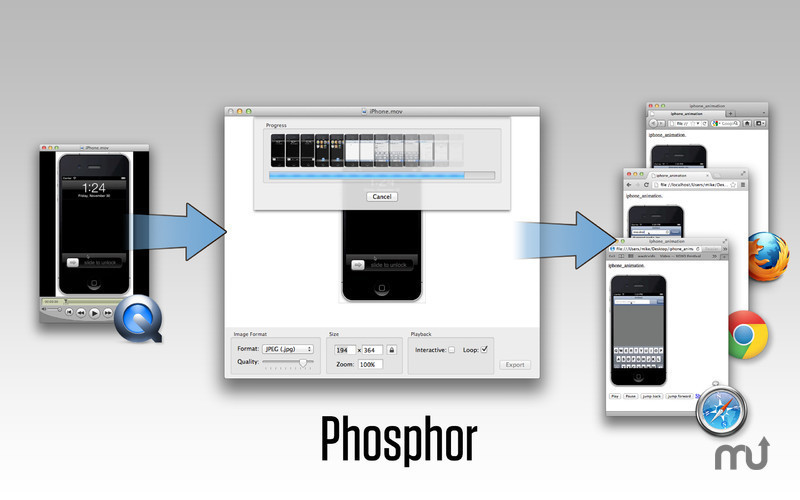 Screenshot 3 for Phosphor