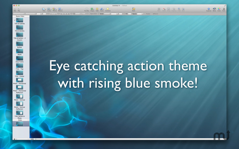 Screenshot 2 for Action Themes for Keynote