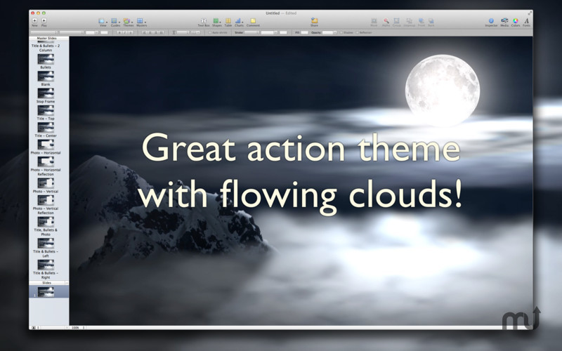 Screenshot 3 for Action Themes for Keynote