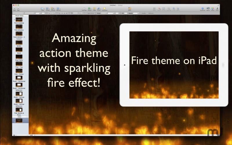 Screenshot 4 for Action Themes for Keynote