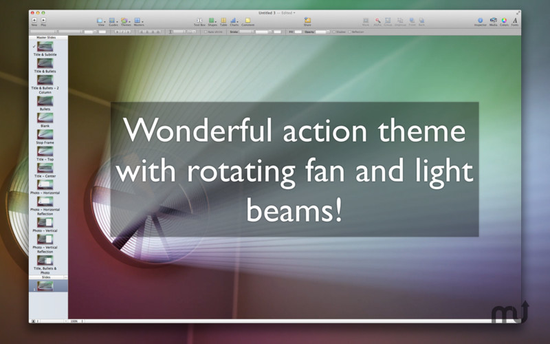 Screenshot 5 for Action Themes for Keynote