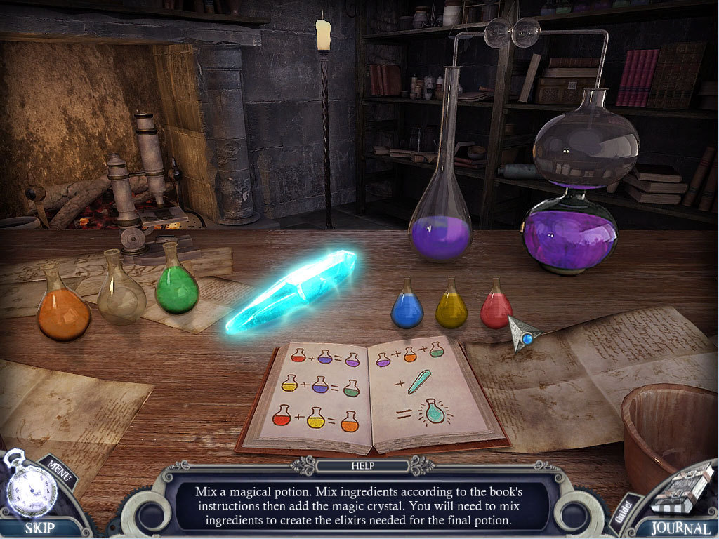 Screenshot 1 for Fairy Tale Mysteries - The Puppet Thief PE