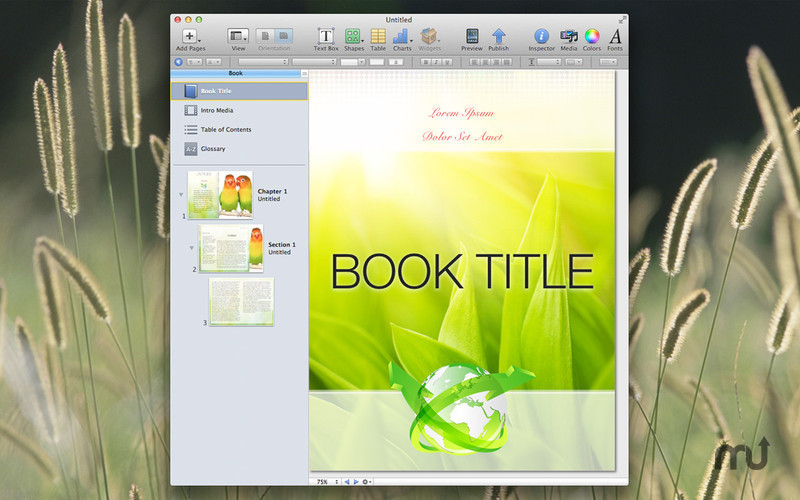 Screenshot 1 for Designs for iBooks Author