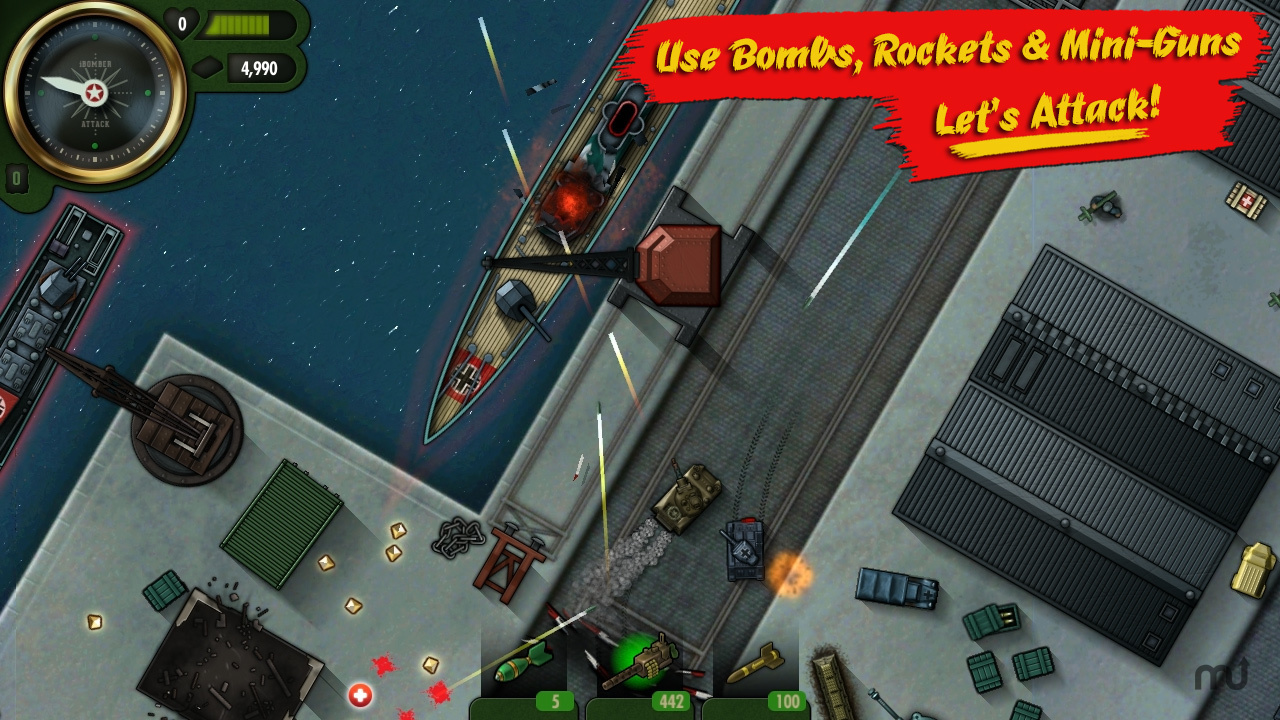 Screenshot 1 for iBomber Attack