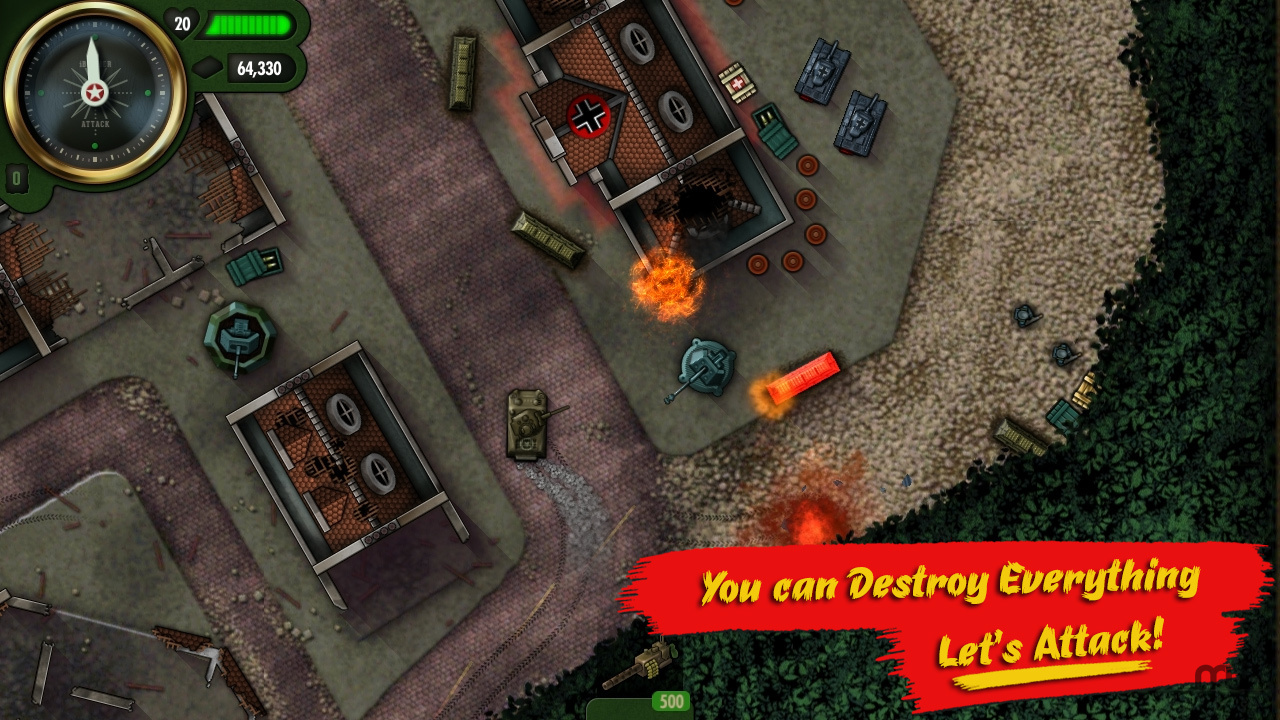 Screenshot 4 for iBomber Attack