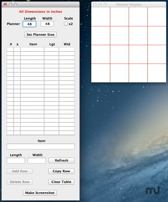 Screenshot 1 for Planner