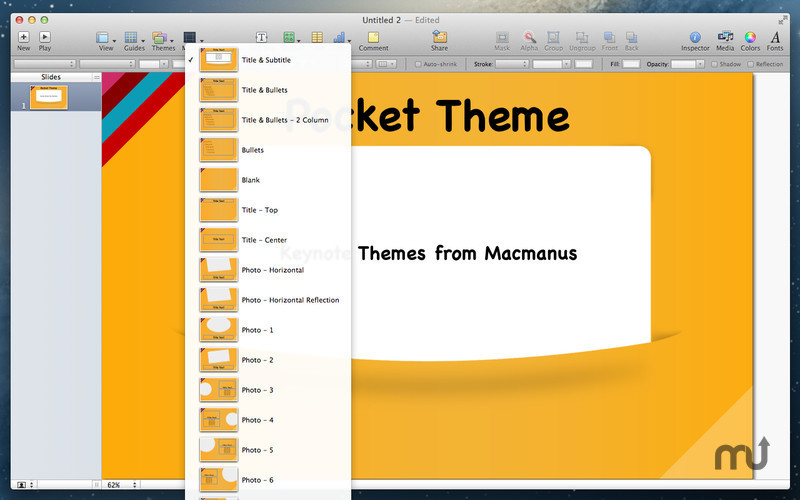 Screenshot 2 for Themes Box for Keynote