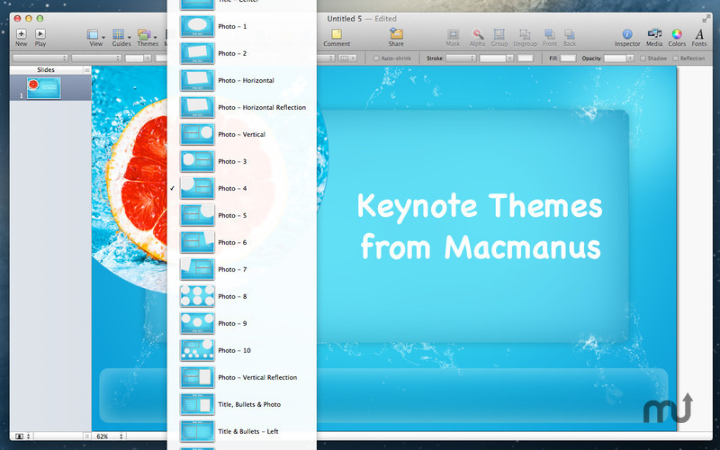 Screenshot 3 for Themes Box for Keynote