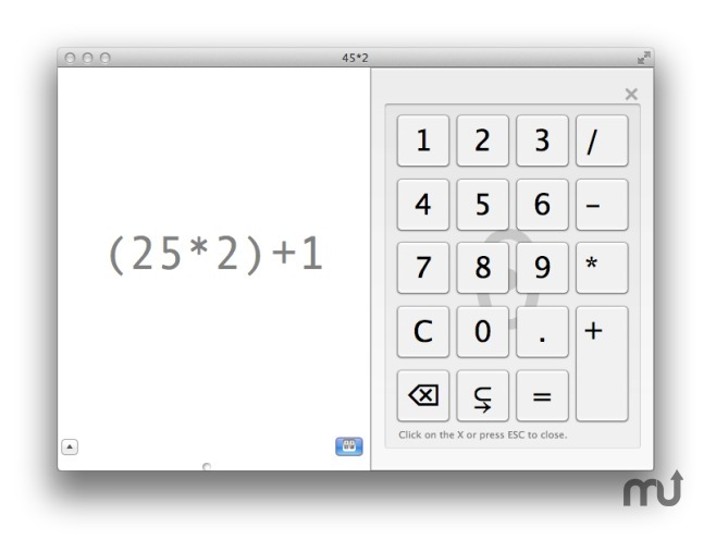 Screenshot 1 for GrandCalc