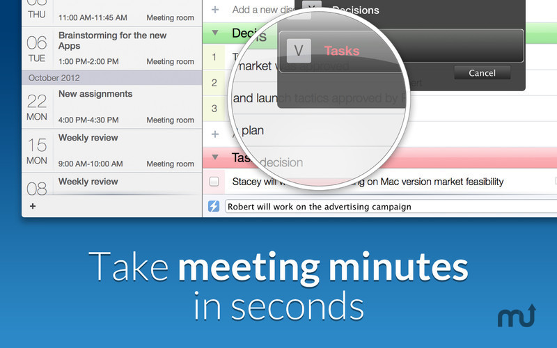 Screenshot 4 for Meetings