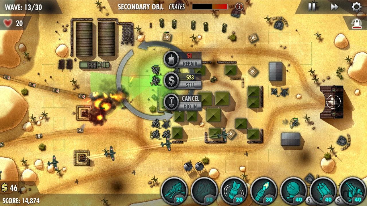 Screenshot 2 for iBomber Defense Pacific