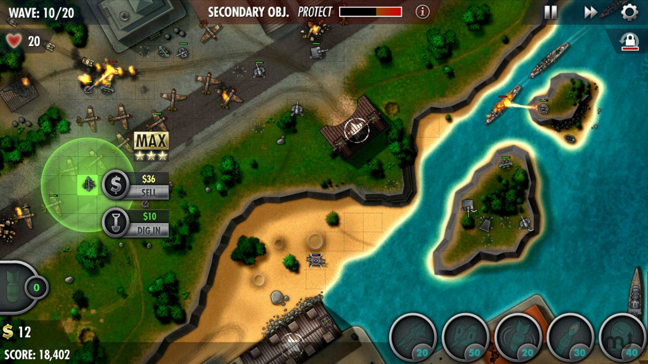 Screenshot 3 for iBomber Defense Pacific
