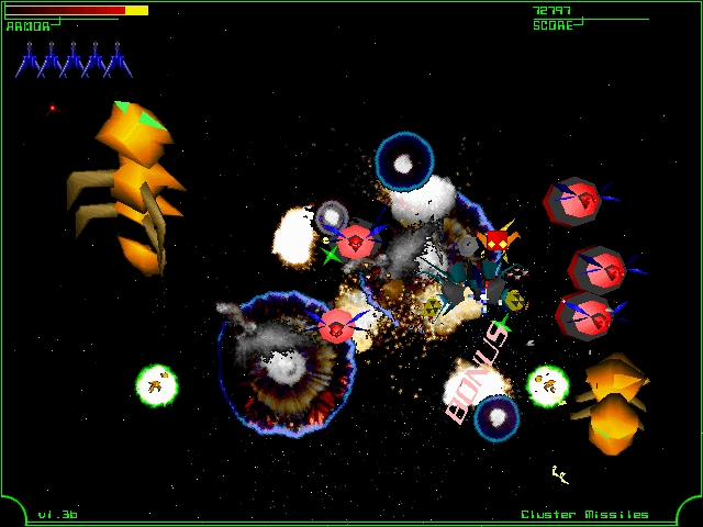 Screenshot 1 for Galactic Patrol