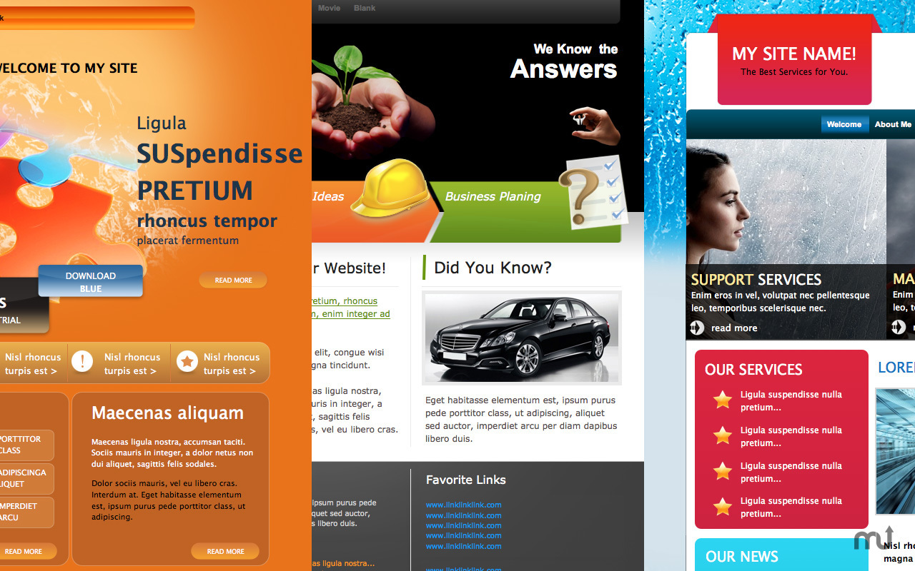 Screenshot 1 for Themes Box for iWeb