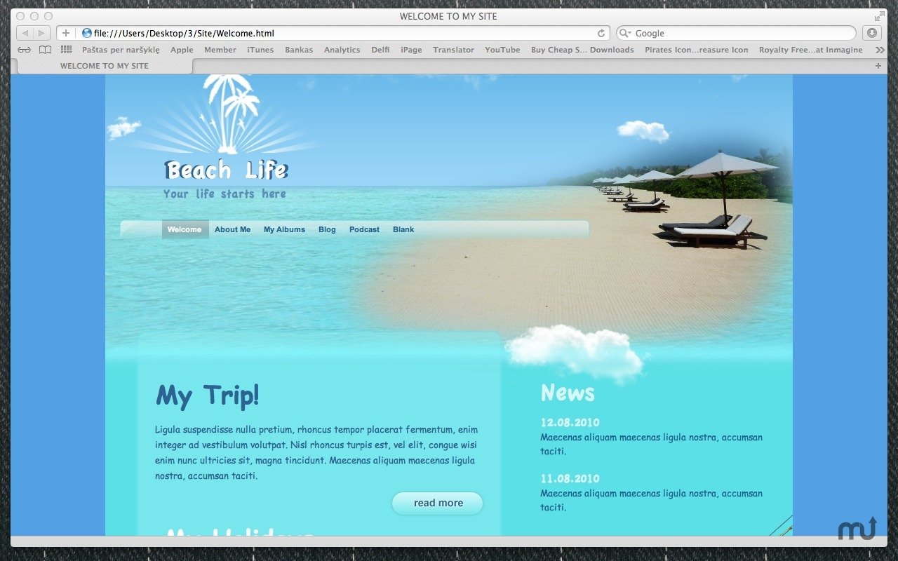 Screenshot 5 for Themes Box for iWeb