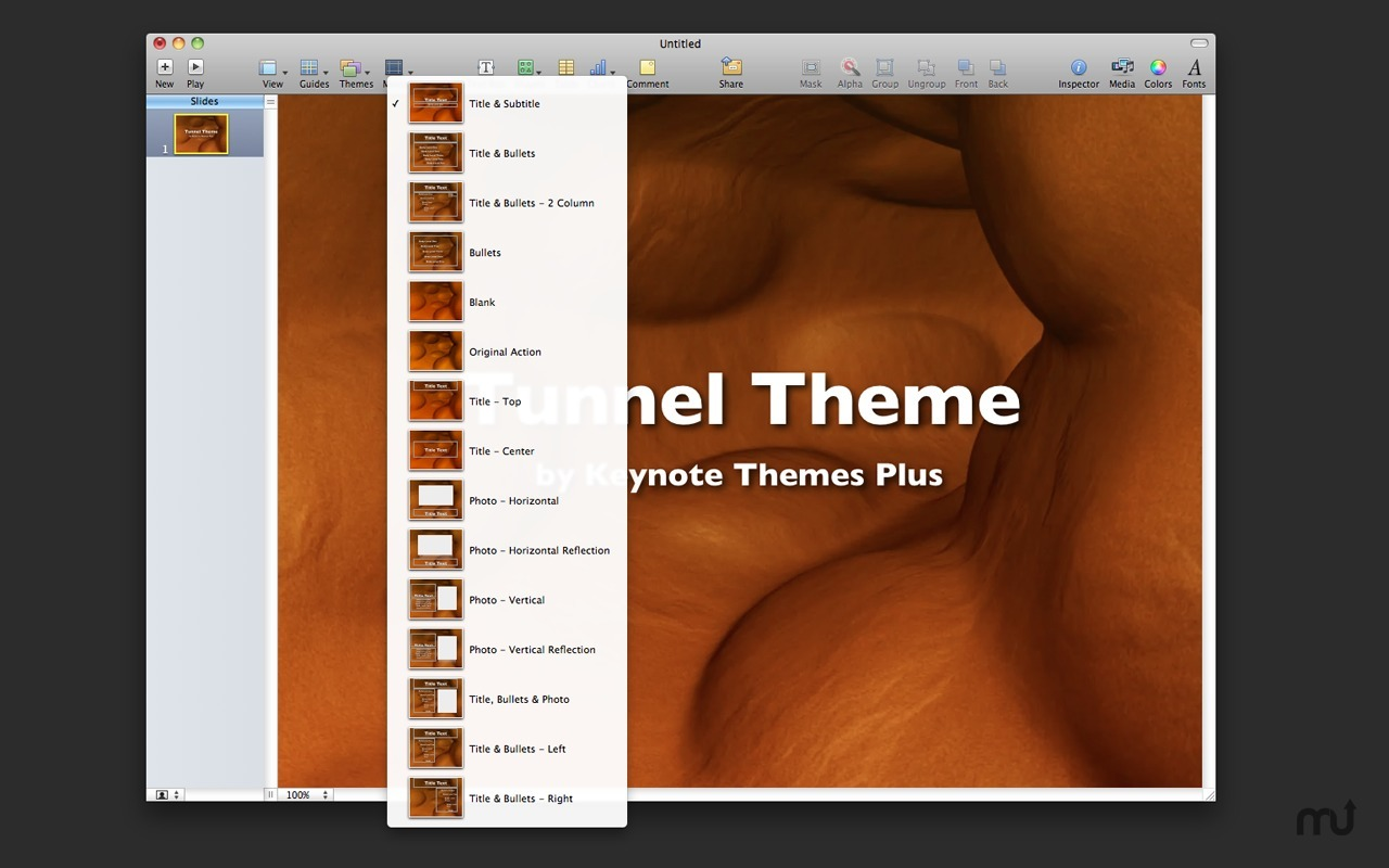 Screenshot 2 for Video Themes for Keynote