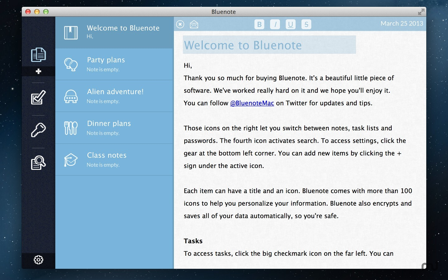 Screenshot 3 for Bluenote