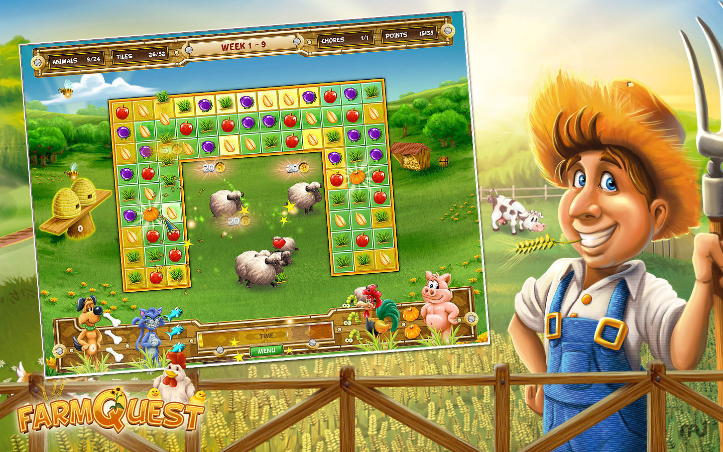 Screenshot 3 for Farm Quest