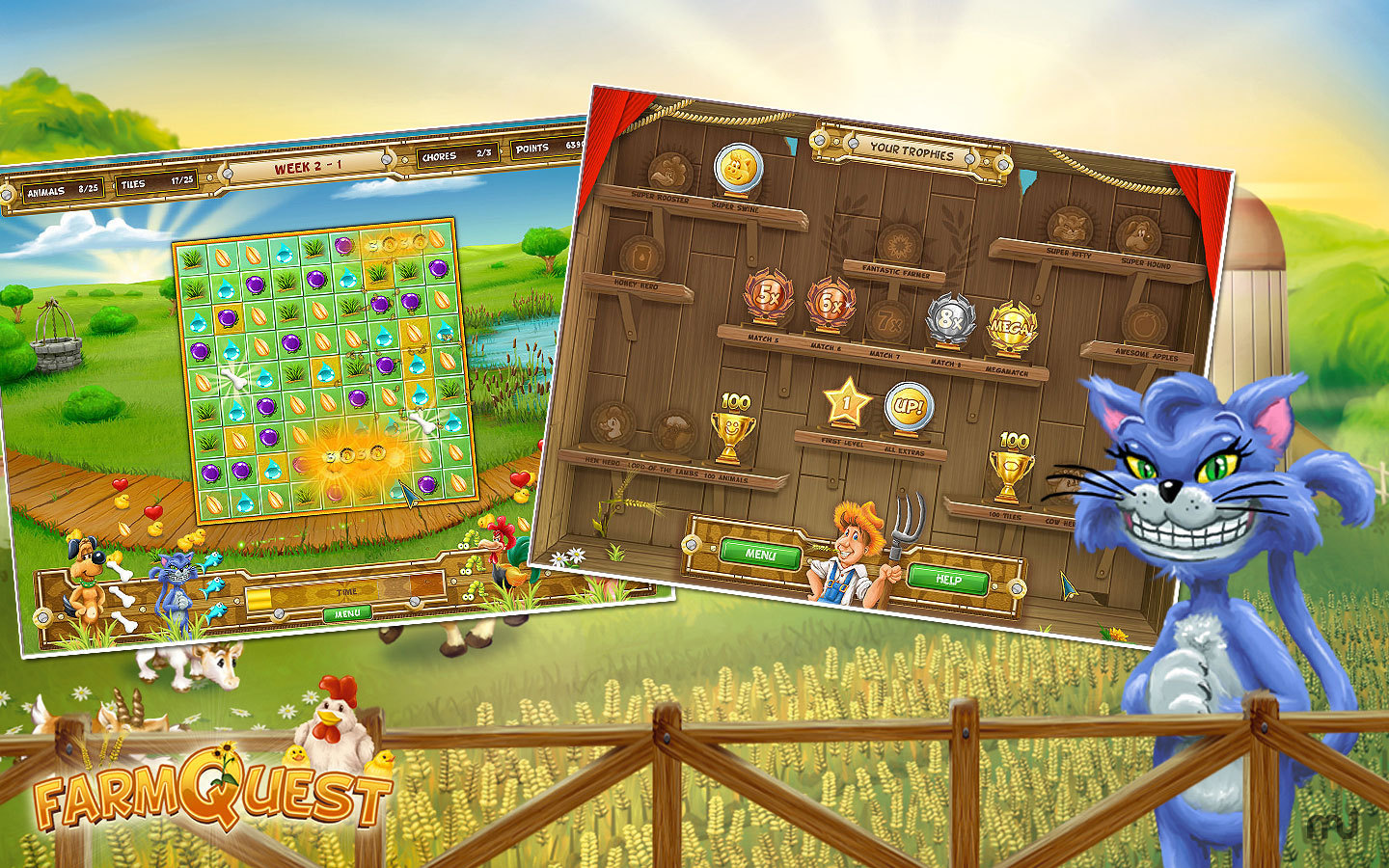 Screenshot 4 for Farm Quest